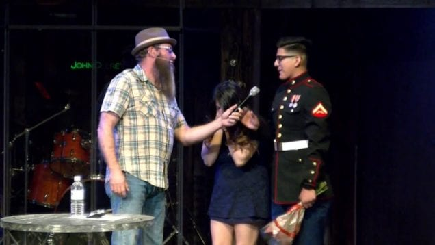 Military Homecoming Surprise at Grace Walk Church 5-15-16