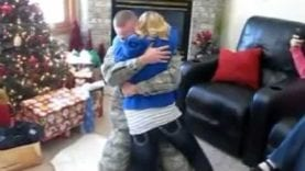 Christmas Military Homecoming Surprise