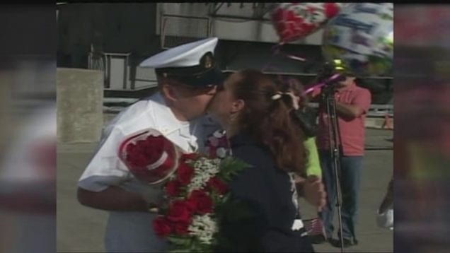 USS John C. Stennis Homecoming