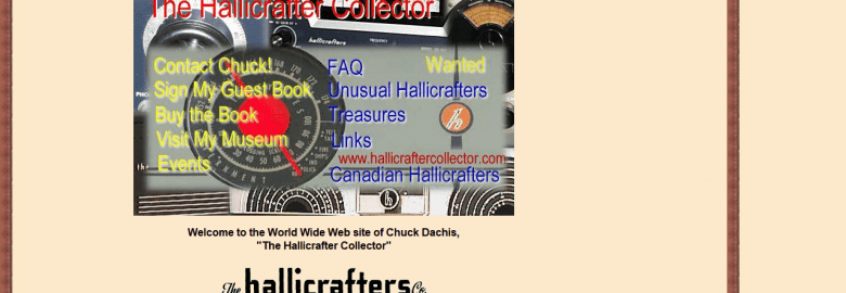 Chuck Dachis: The Hallicrafter Collector