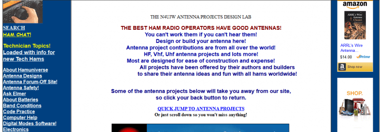 HAM Antenna Plans and Projects