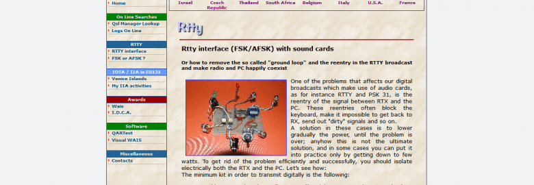 RTTY – FSK/AFSK Interface and Diagrams