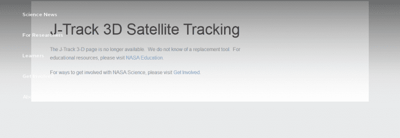 J-Track 3-D Satellite Tracking