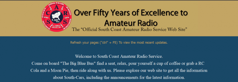 South Coast Amateur Radio Service